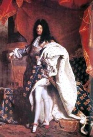Louis XIV monarque absolu en France