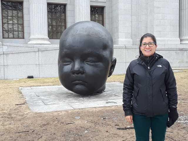 Visitando El Museo de Bellas Artes de Boston