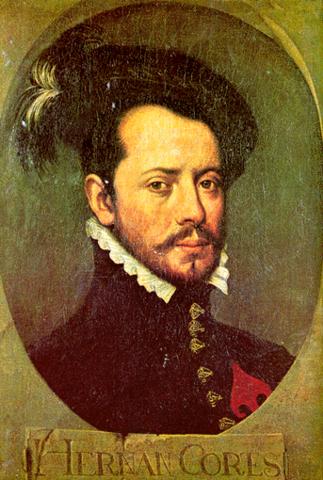 Cortés conquers Aztec empire.