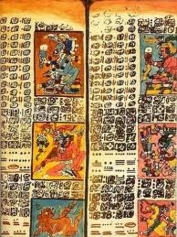 The Dresden Codex, Maya Book