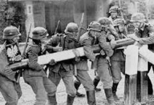 L'invasion de la Pologne