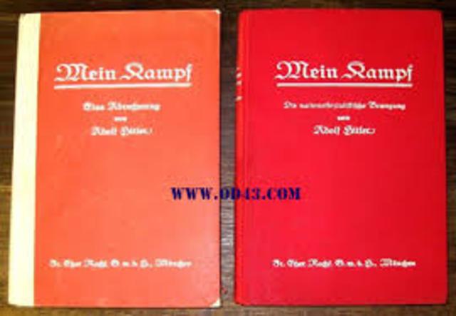 Publication du volume II de Mein Kampf
