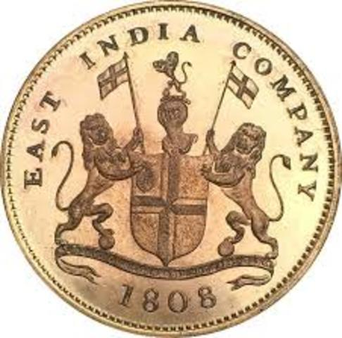 East India Company is set up by England