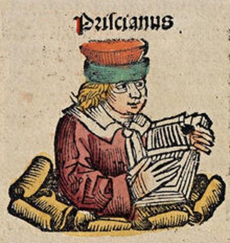 PRISCIANO CAESARIENSIS: Instituciones Gramaticales o Fundamentos de Gramática