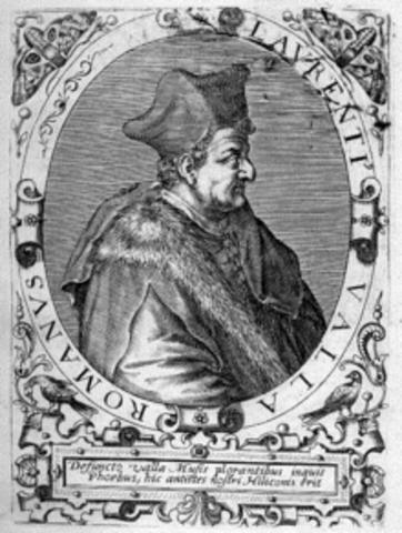 LAURENTIUS VALLA: Elegantiae latini sermonis (Sobre la elegancia del discurso latino).
