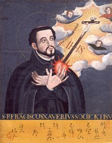 Arrival of Francis Xavier
