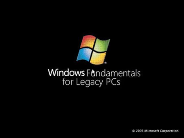 Windows Fundamentals for Legacy PCs