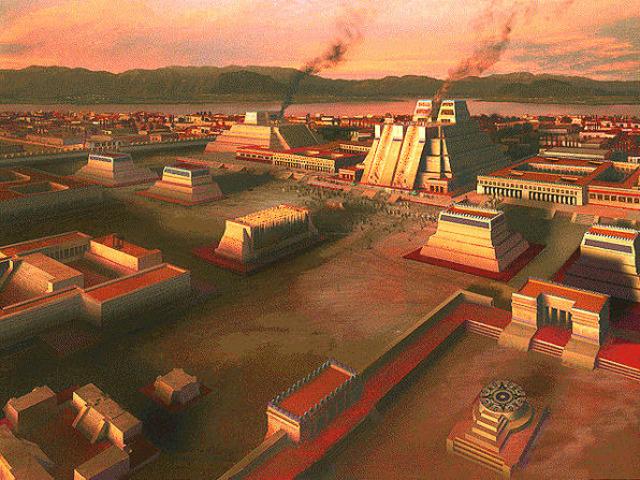 Aztecs found Tenochtitlán