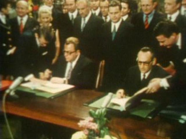 Grundlagenvertrag zwischen BRD und DDR