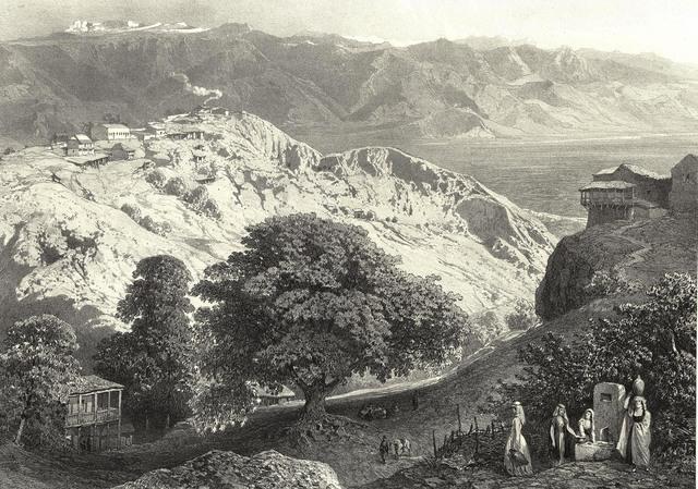 Отправление на Кавказ с братом
