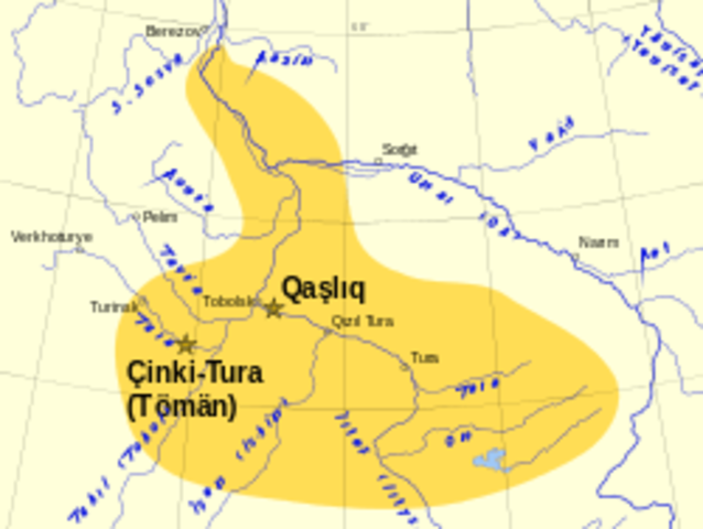 The Khanate of Sibir was founded