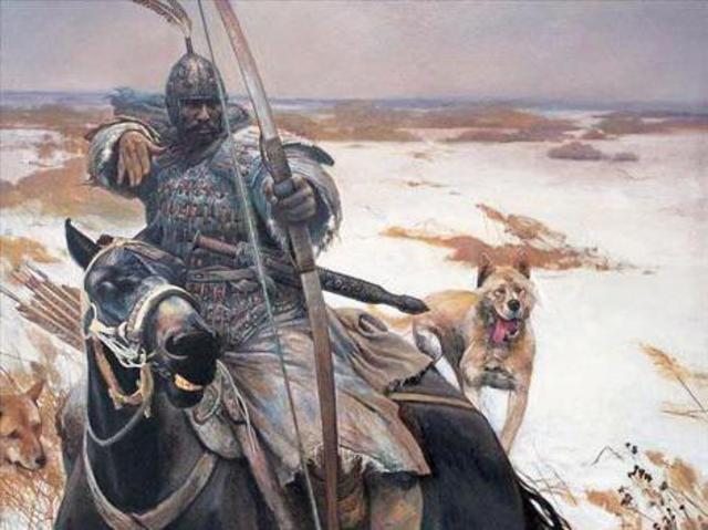 Kuchum began to contest the throne of the Siberian Khanate