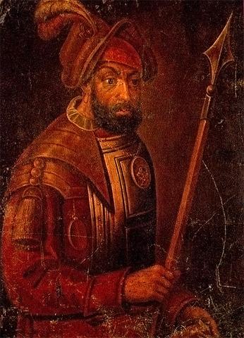 Kuchum killed Yermak