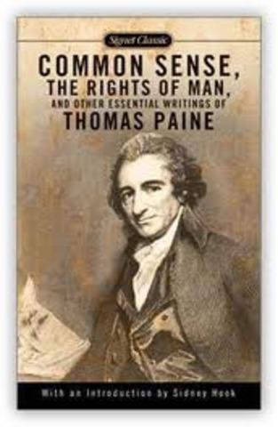 "Thomas Paine Publishes 'Common Sense"""
