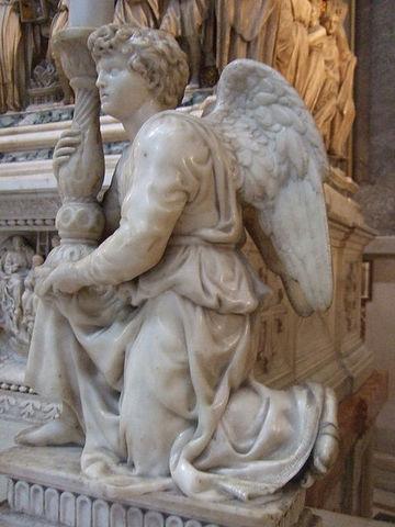 Angel by Michelangelo