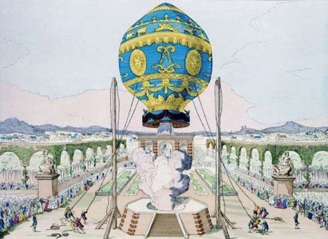 Montgolfier brothers ballon