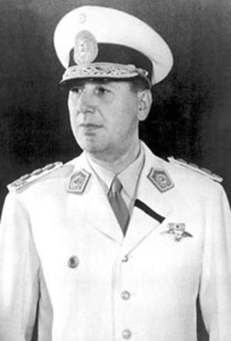 Juan Perón is elected president of Argentina.