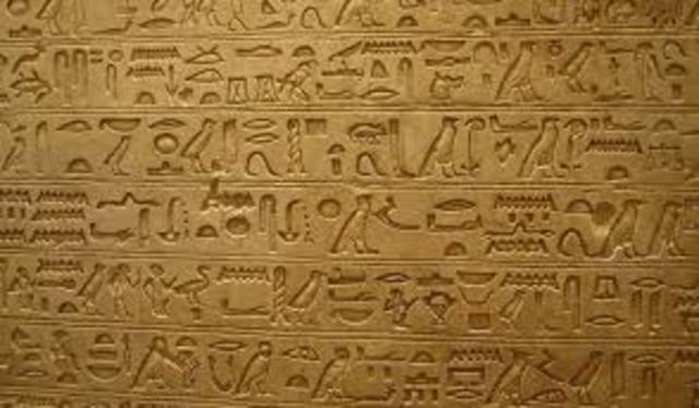 Se escribe el ultimo geográfico Egipcio