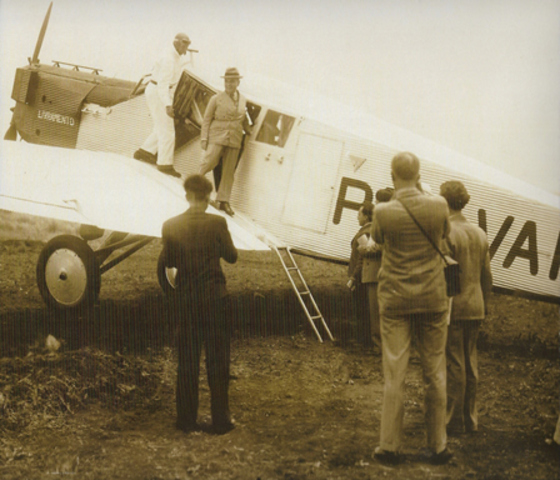 Introduction of Junkers F13: first all metal