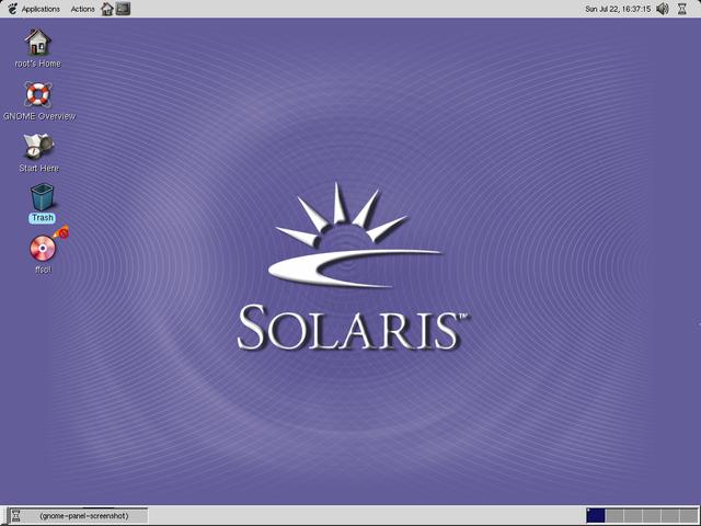 SUN MICROSYSTEMS LANZA SOLARIS