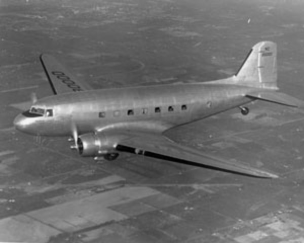 AA takes delivery of the first  DC-3 ever produced