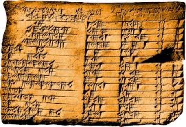the Plimpton tablet