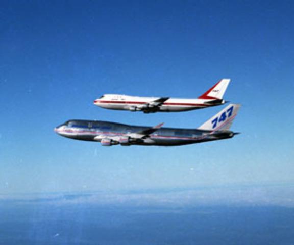 747 first flight