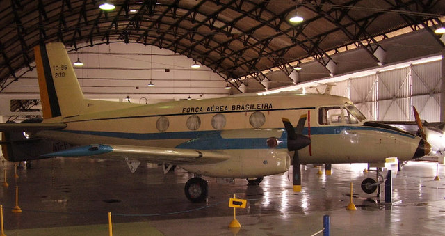 Embraer Bandeirante first flight