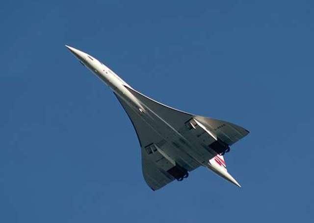 Concorde first scheduled passenger service