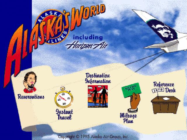 Alaska pionners internet ticket sales in US