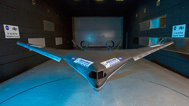 Blended wing body concept  still on wait due to aiport compatibility and market issues