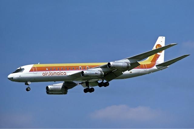 Douglas DC-8 first flight