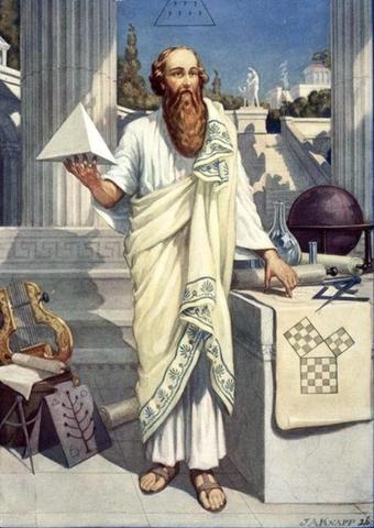 Pitagoras: primer matematico puro