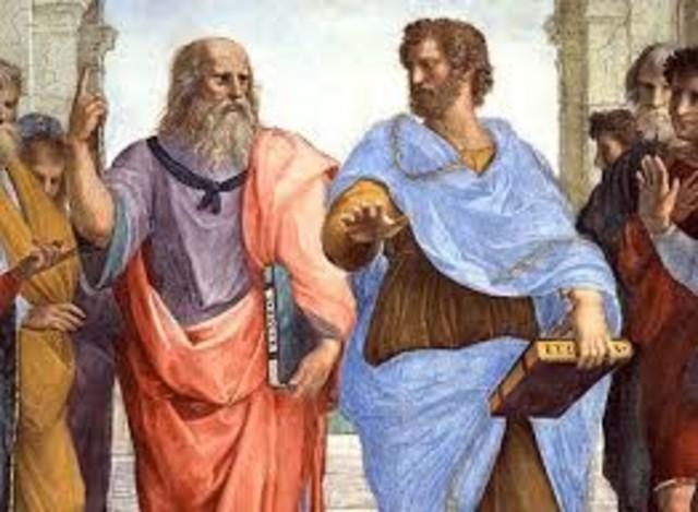Platon y Aristoteles. Razonamiento deductivo.