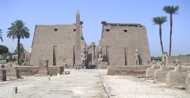 Temple Complex at Luxor (1460-1250 BCE)