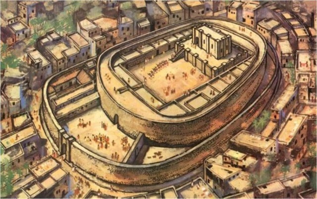 Oval Temple (2650-2350 BCE)