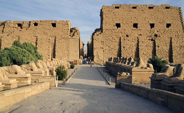 Temple of Amon-Ra (1525-1250 BCE)