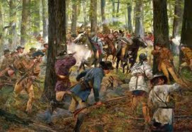 Battle of Kings Mountain, S.C.