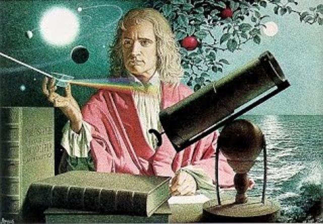 Ley de la gravitacion; Newton