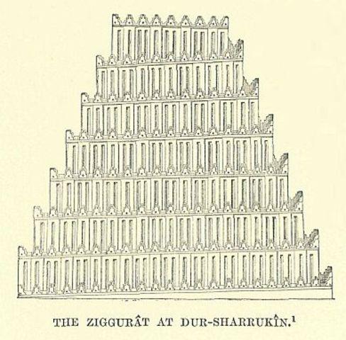 Ziggurat of Sargon (715-705 BCE)