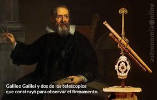 Galileo crea el telescopio