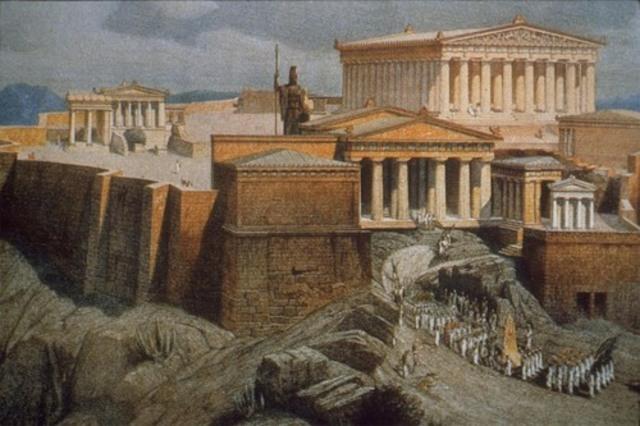 Propylaea/Acropolis