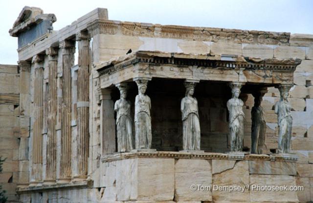 Erechtheion (421-406 BCE)