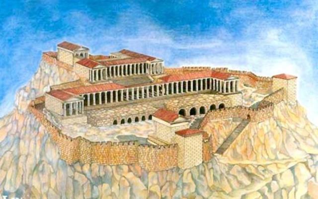 Sanctuary of Athena Lindia at Lindos (3rd century BCE)