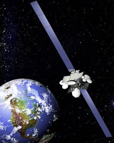 Anik F2 / Primer satélite con banda Ka