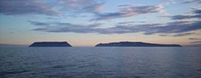 Kurbat Ivanov drew a map of the Bering Sea.