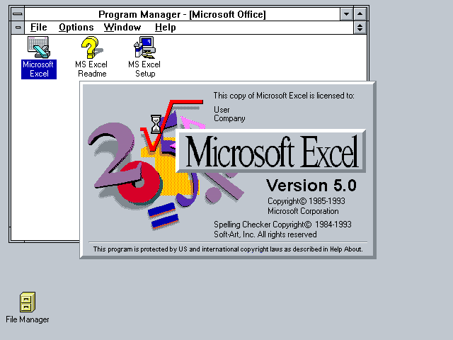Excel 5.0
