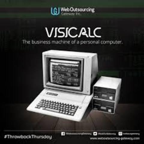 Nuevo programa llamado Visicalc