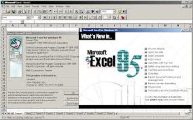 Microsoft Excel 7.0  - Office '95