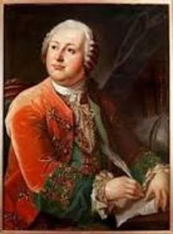 Mikhail Lomonosov wrote a detailed description of Russian findings in the Arctic